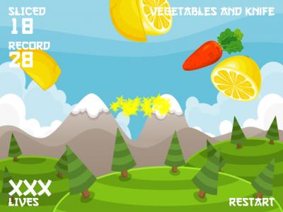 Vegetables and knife - Изображение 4