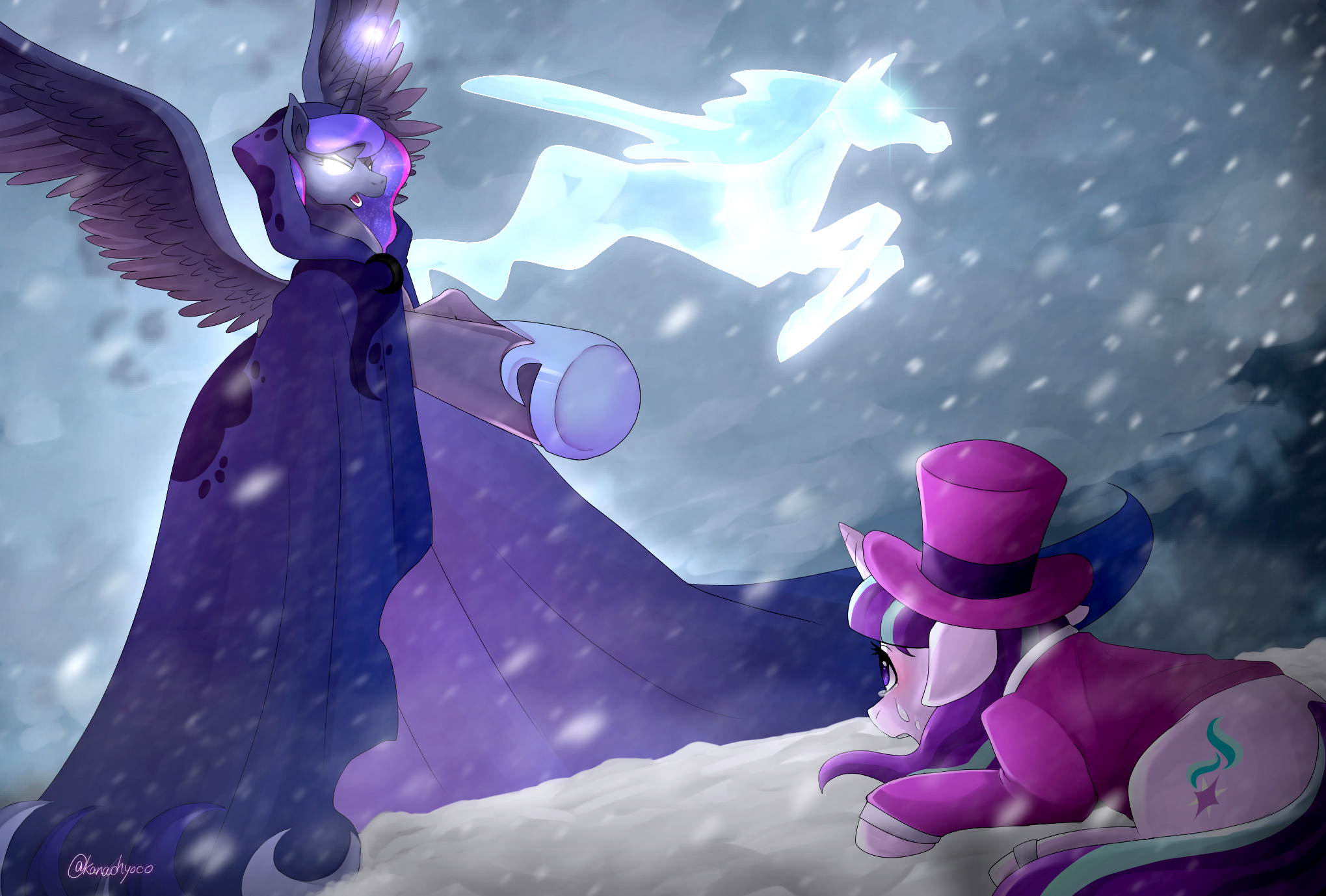 Немного поне песенок! Luna's Future (Snowfall Frost). - Изображение 1