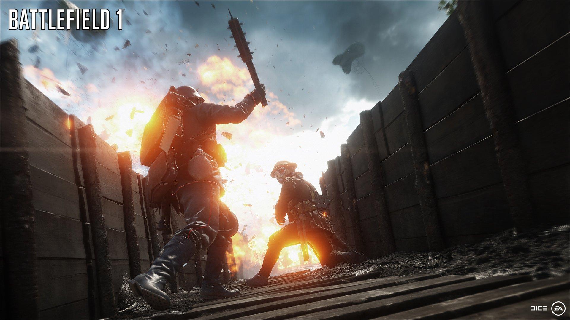 E3 тизер Battlefield 1 и информация про оружие - Изображение 2
