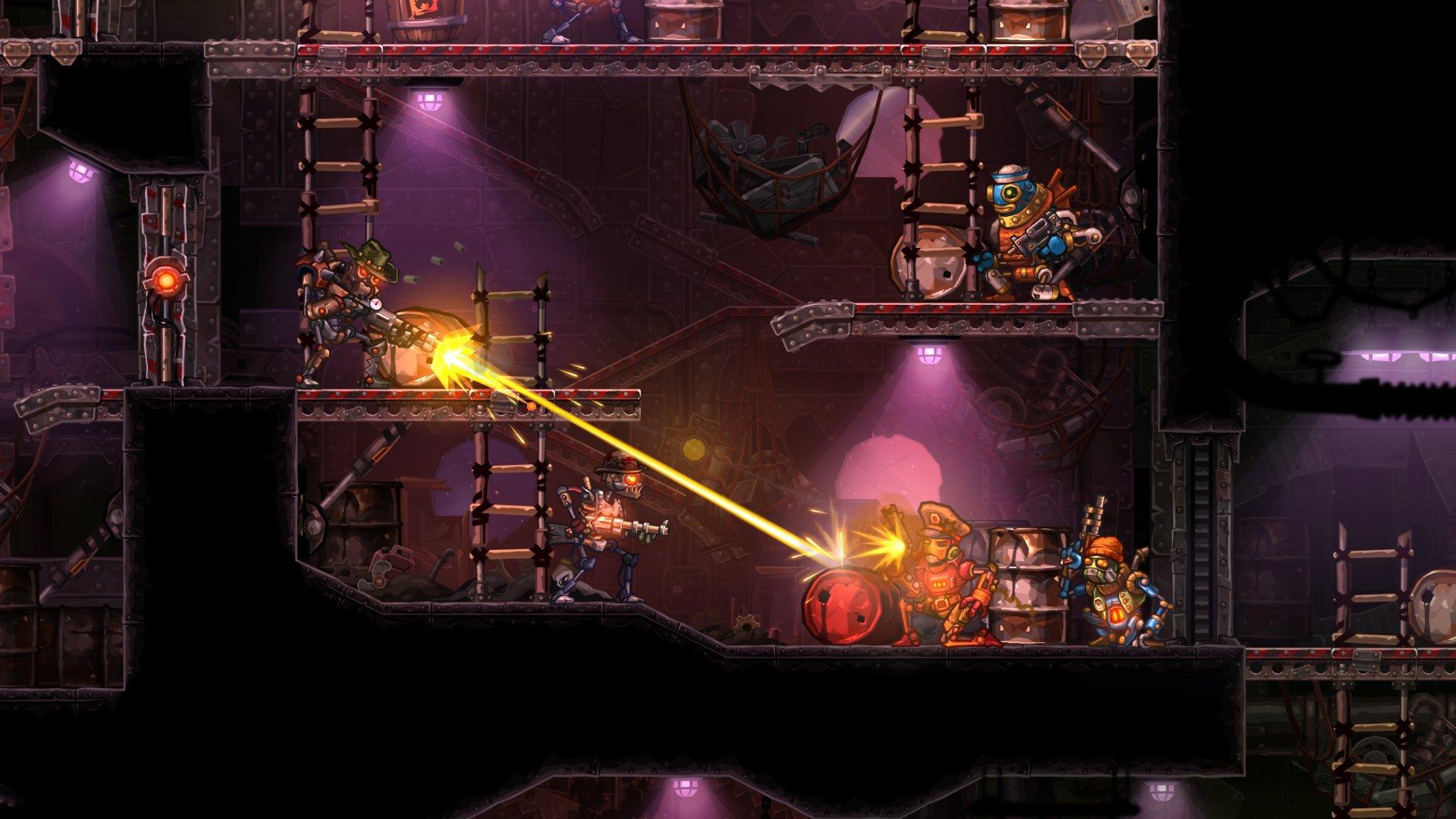Steamworld heist обзор - Изображение 2