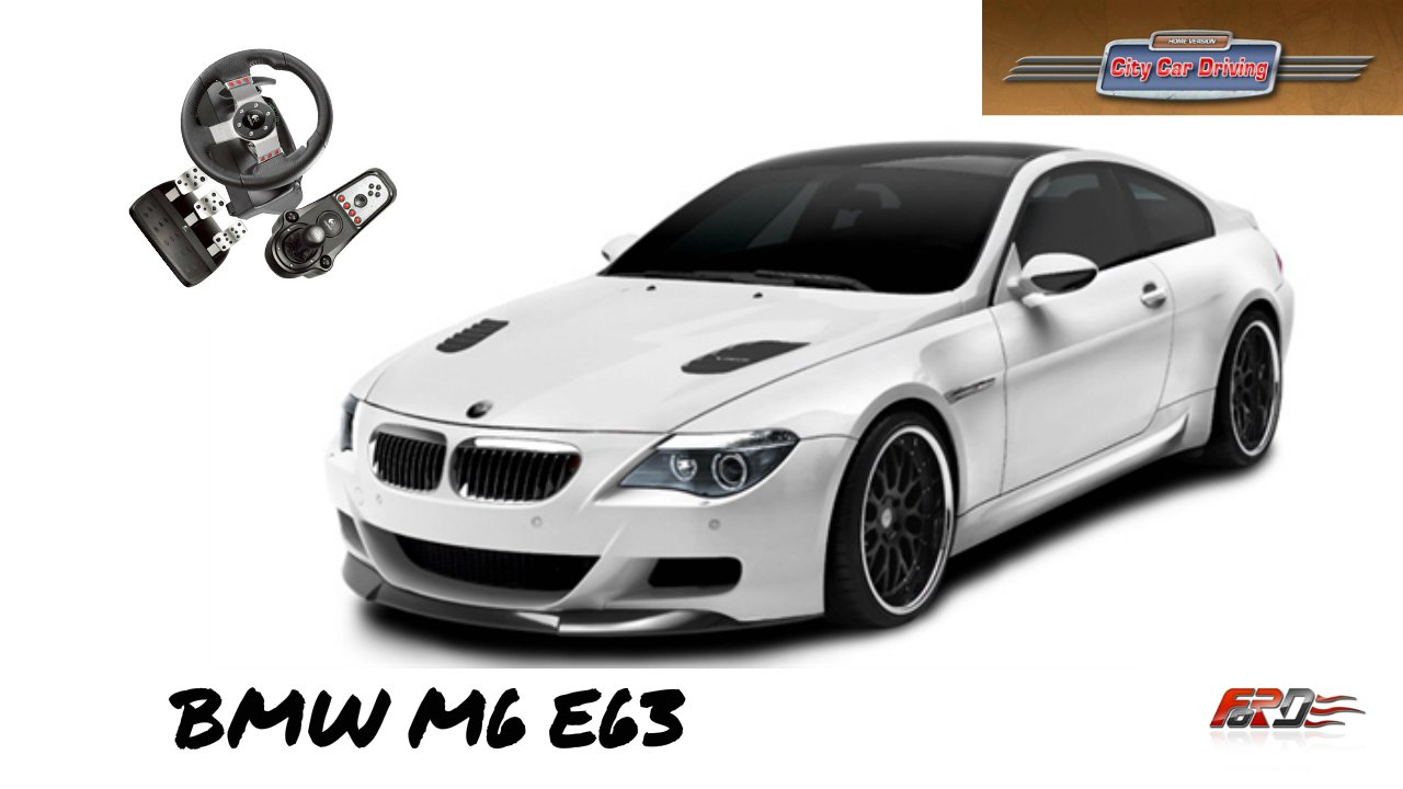 City Car Driving 1.5.1 обзор BMW M6 E63 G-POWER тест-драйв, разгон Logitech G27 - Изображение 1