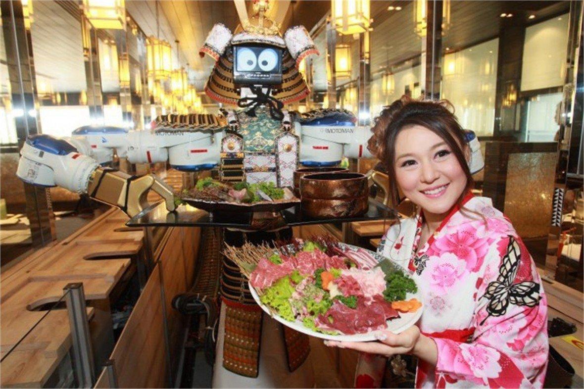 Hajime — ресторан с роботом-официантом в Тайланде - Изображение 1