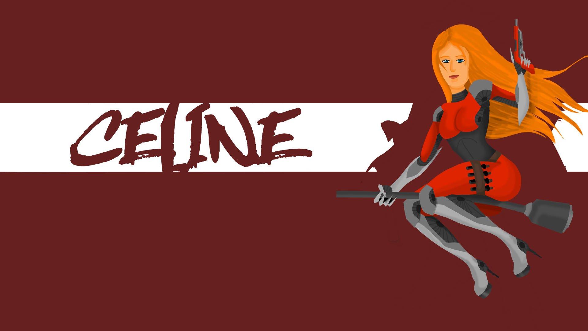 Кибер ведьма Селина #OverwatchHeroContest - Изображение 1