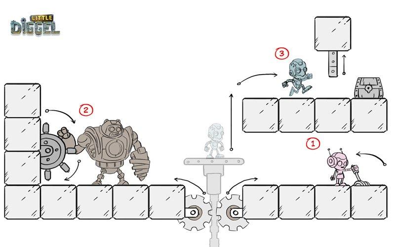 Игровой проект Little Diggel - Изображение 4