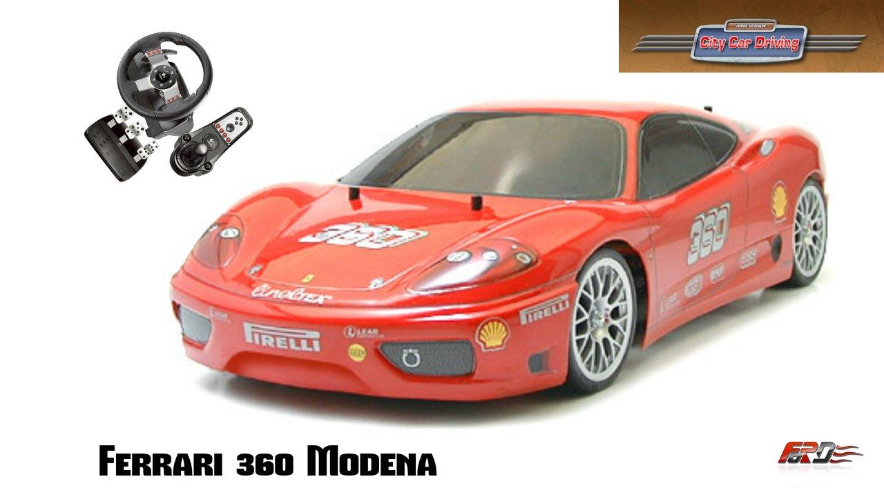Ferrari 360 Modena тест-драйв, обзор, история создания, суперкары девяностых City Car Driving 1.5.1. - Изображение 1