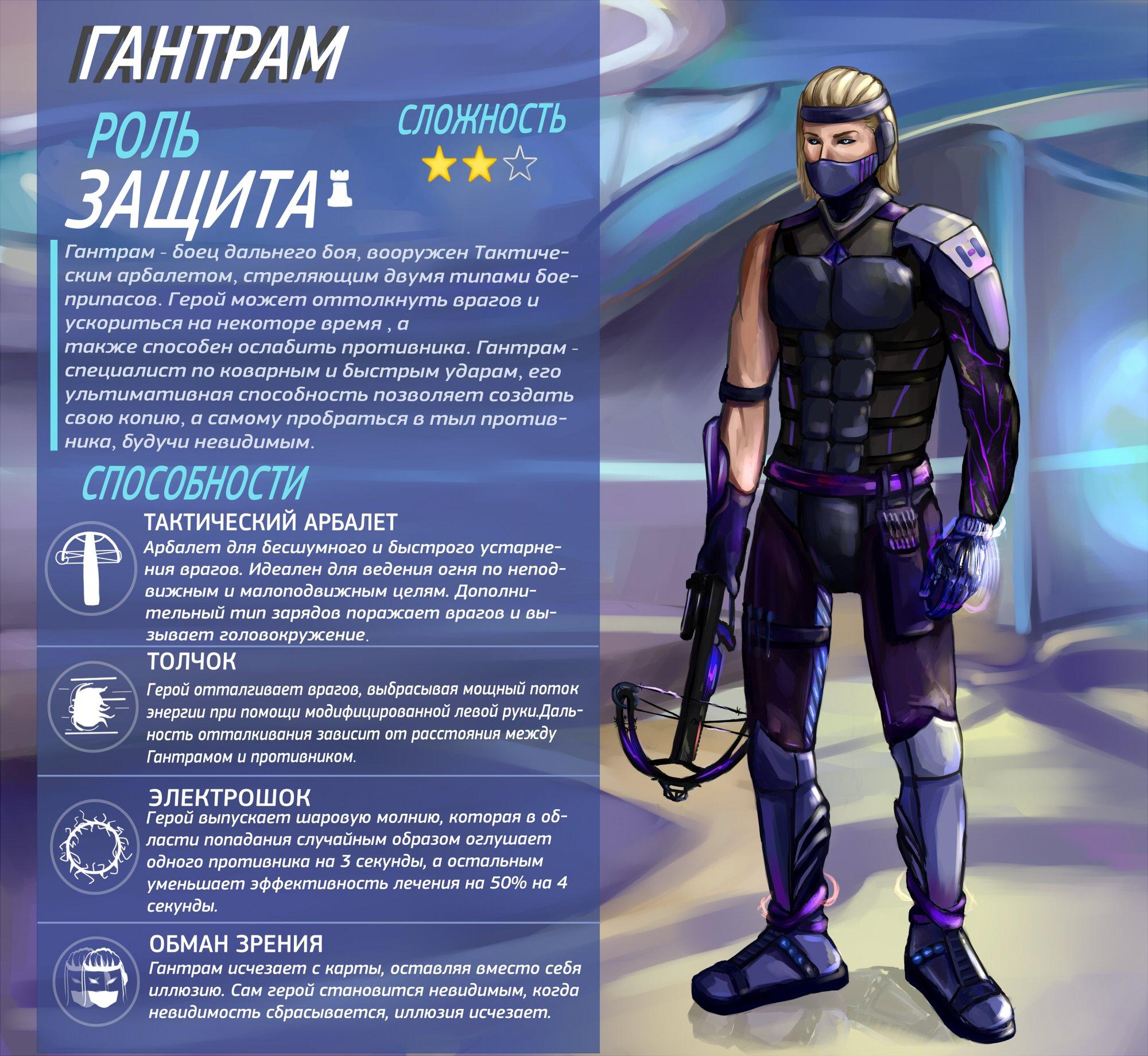 Гантрам - новый герой Overwatch - Изображение 1