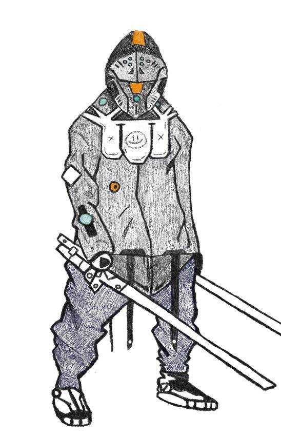 Новый герой для Overwatch:наёмный убийца по имени Джаза - Изображение 1