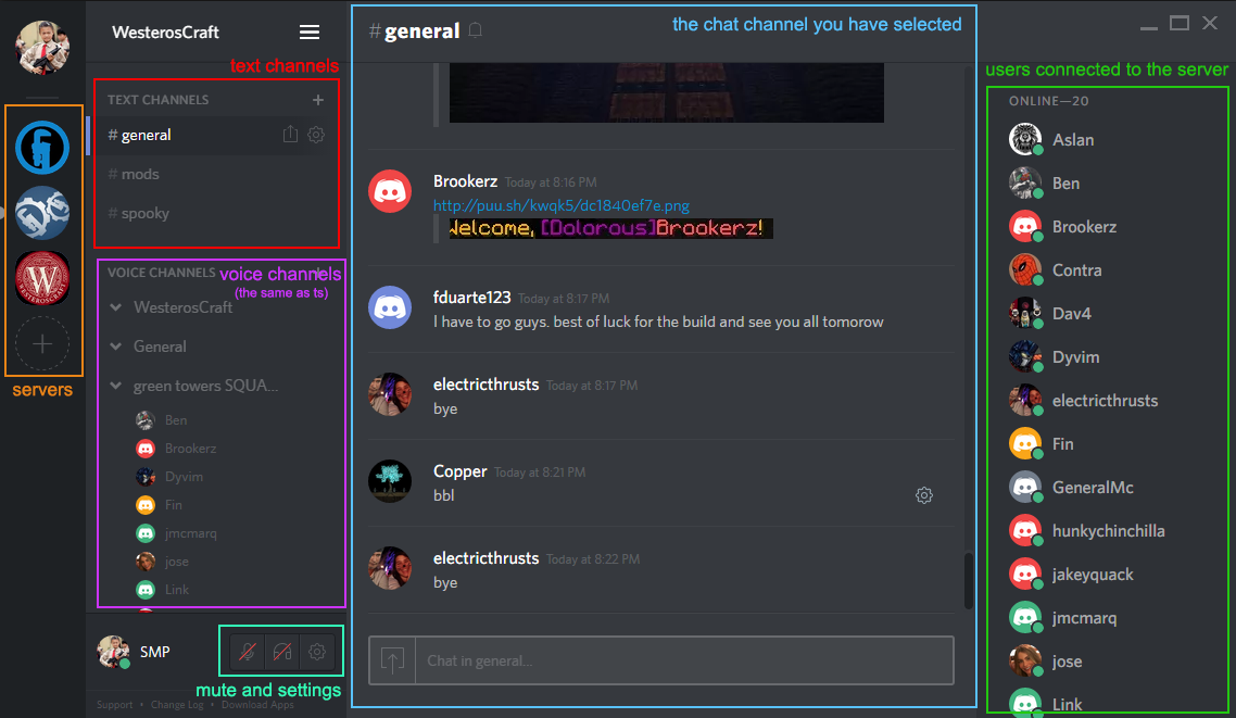 how to clear channels on discord