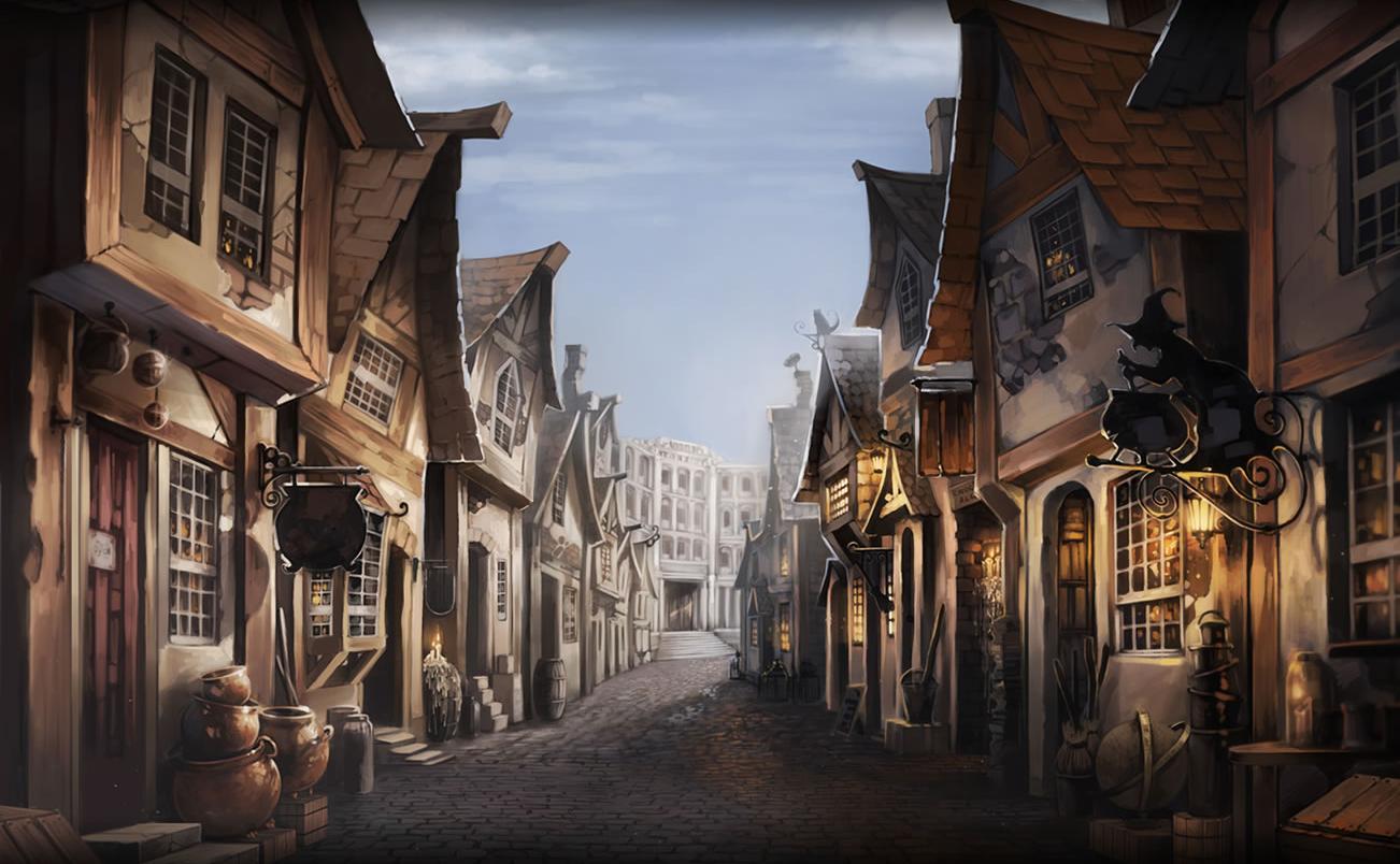 Косой переулок из Гарри Поттера в Санкт-Петербурге - Изображение 1