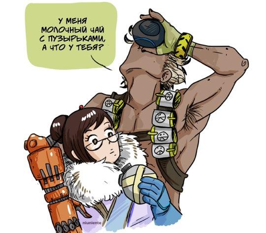 Немного комиксов по Overwatch. - Изображение 13
