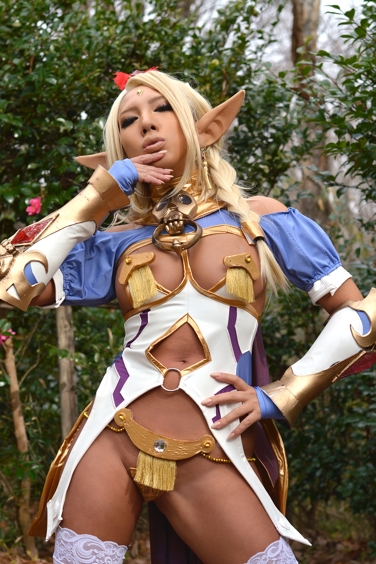 Cosplay dark elf porn naked toons