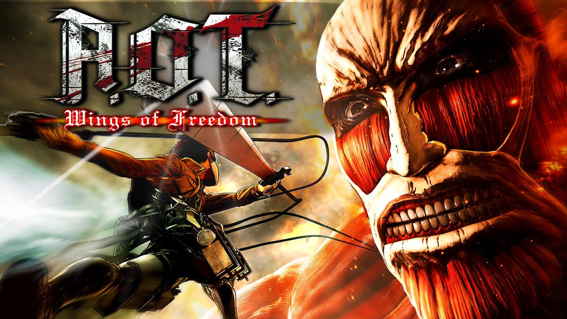 Пост-прохождение Attack of Titan: Wings of Freedom Часть 1 НАЧАЛО!!! - Изображение 1