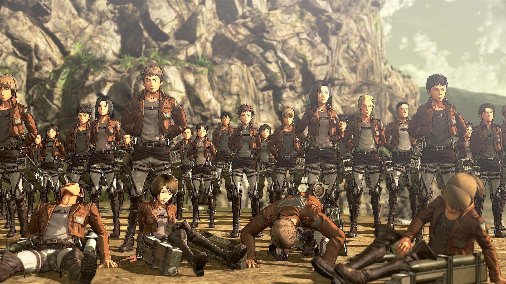 Пост-прохождение Attack of Titan: Wings of Freedom Часть 1 НАЧАЛО!!! - Изображение 6
