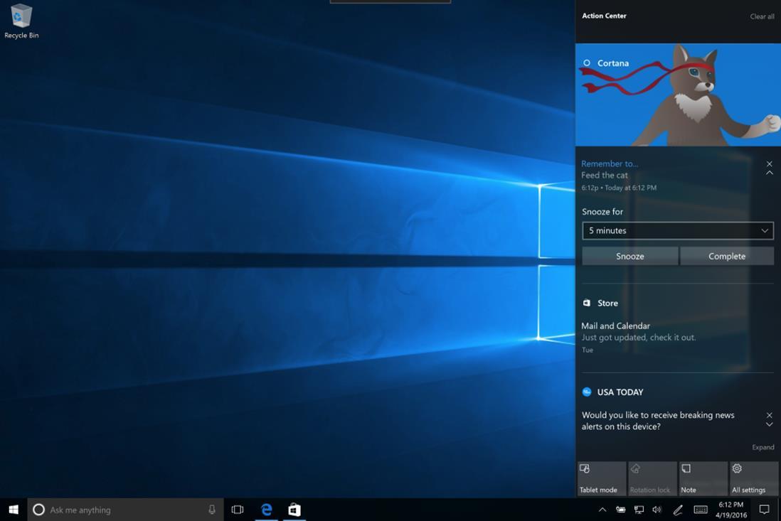 Юбилейное Обновление Windows 10 - что внутри? - Изображение 11