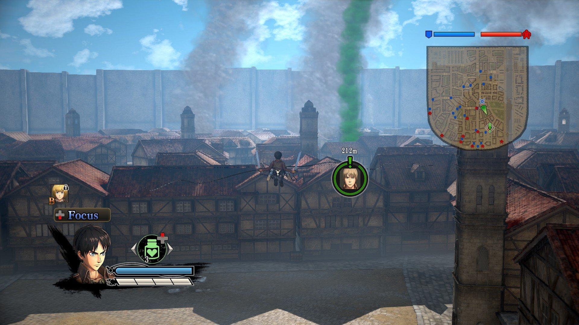 Пост-прохождение Attack of Titan: Wings of Freedom Часть 2 - Изображение 3