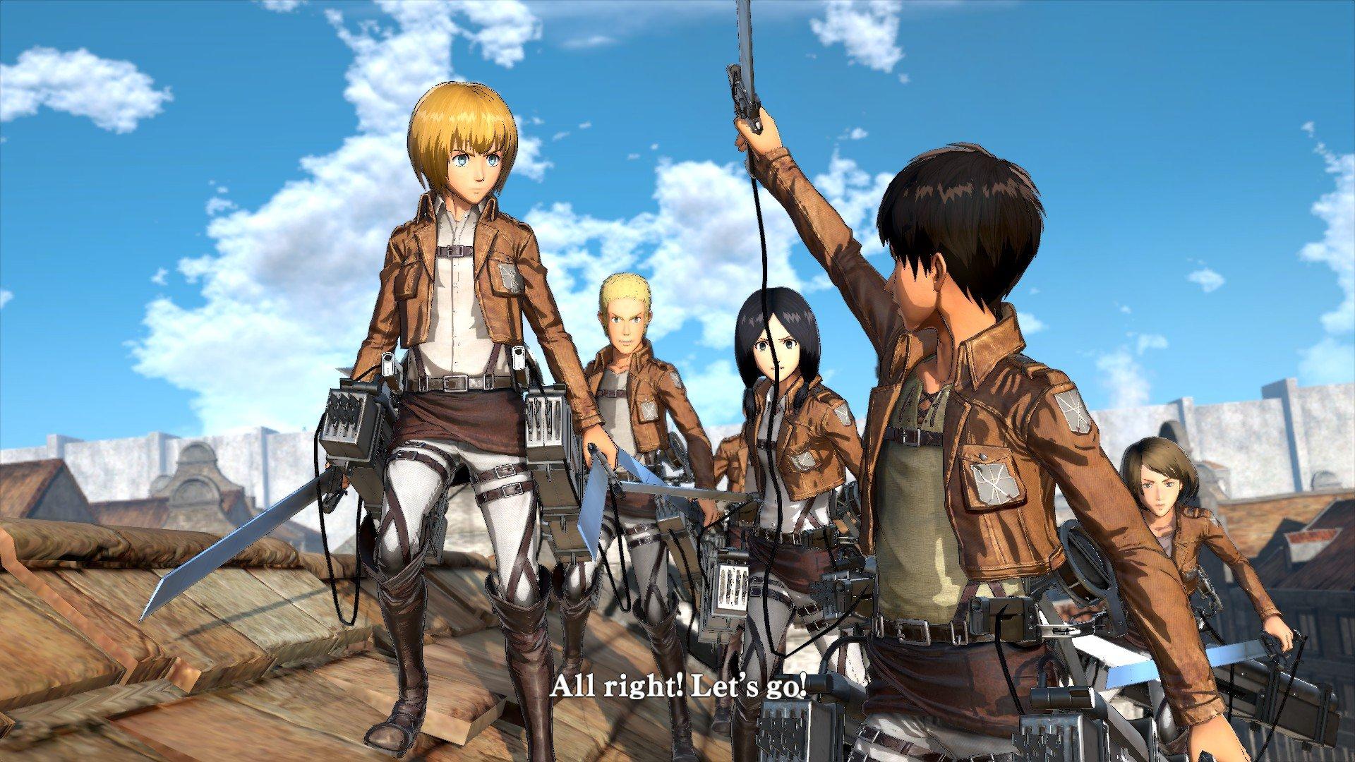 Пост-прохождение Attack of Titan: Wings of Freedom Часть 2 - Изображение 2