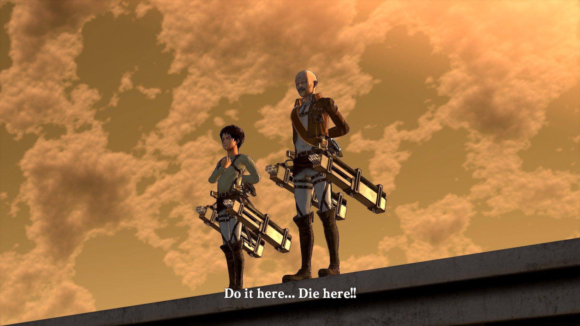 Пост-прохождение Attack of Titan: Wings of Freedom Часть 3 - Изображение 3