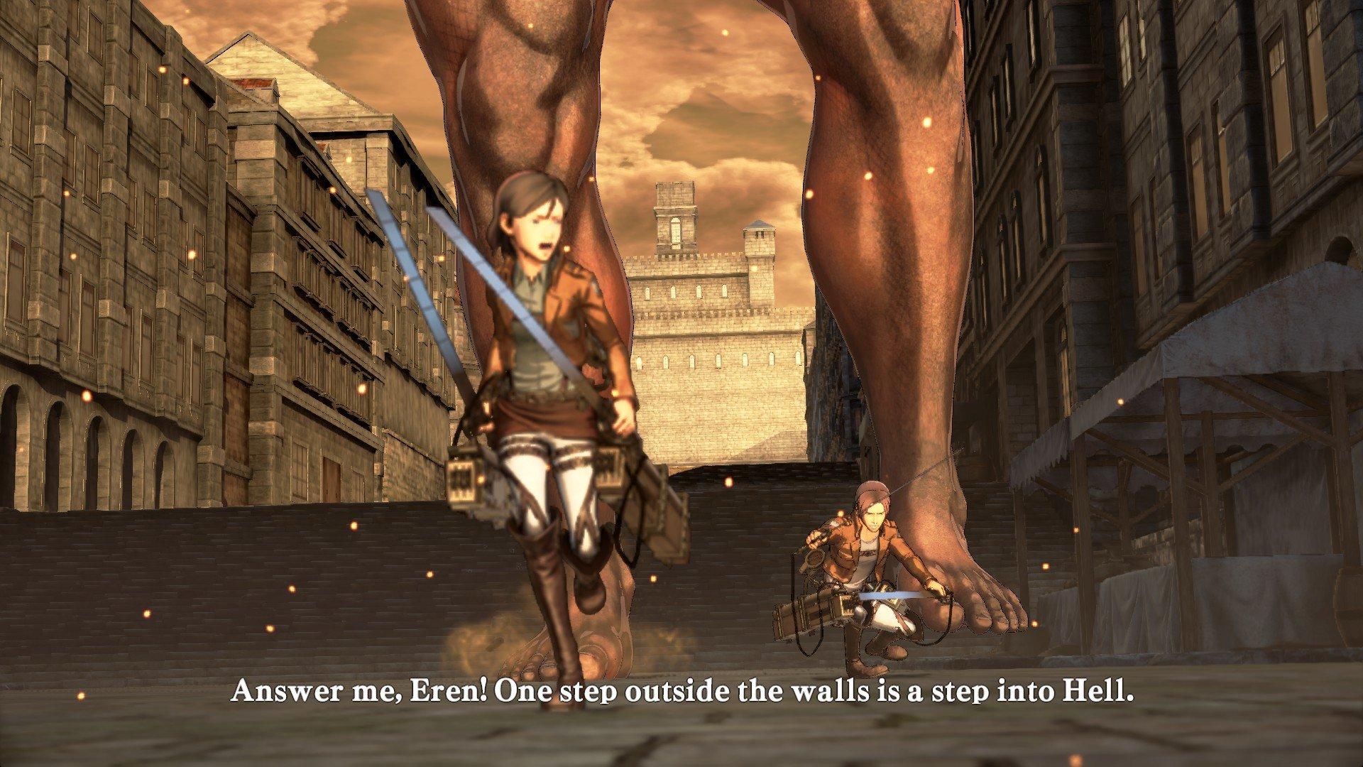 Пост-прохождение Attack of Titan: Wings of Freedom Часть 3 - Изображение 8