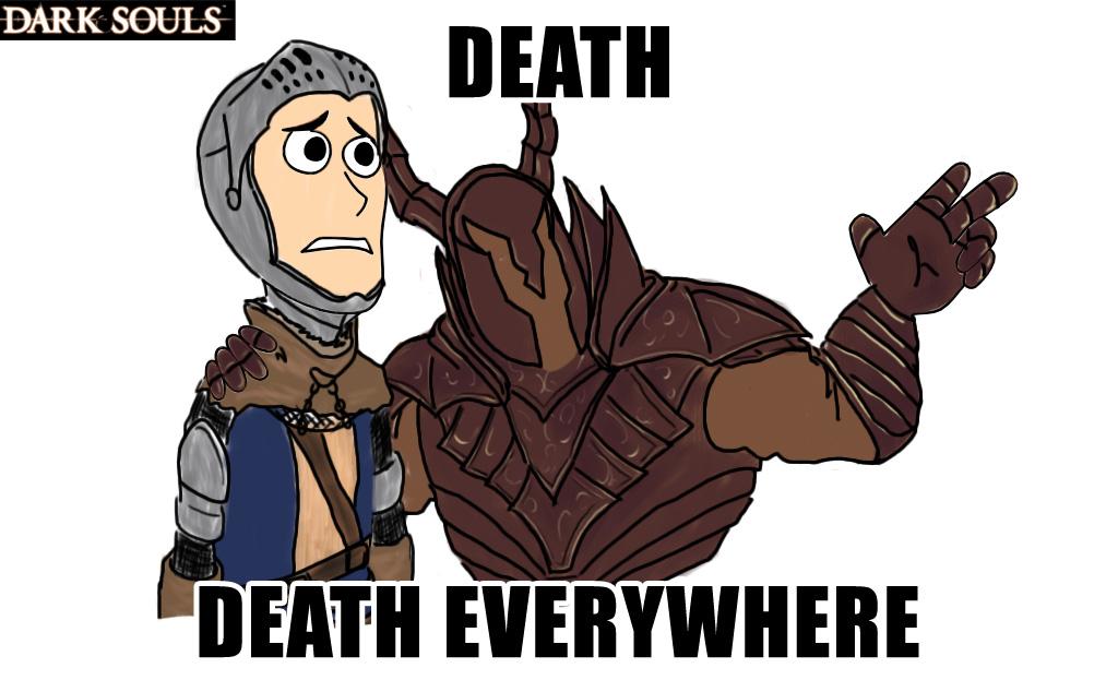 YOU MUST DIE! или как я встретилась с Dark Souls'ом 2 - Изображение 3