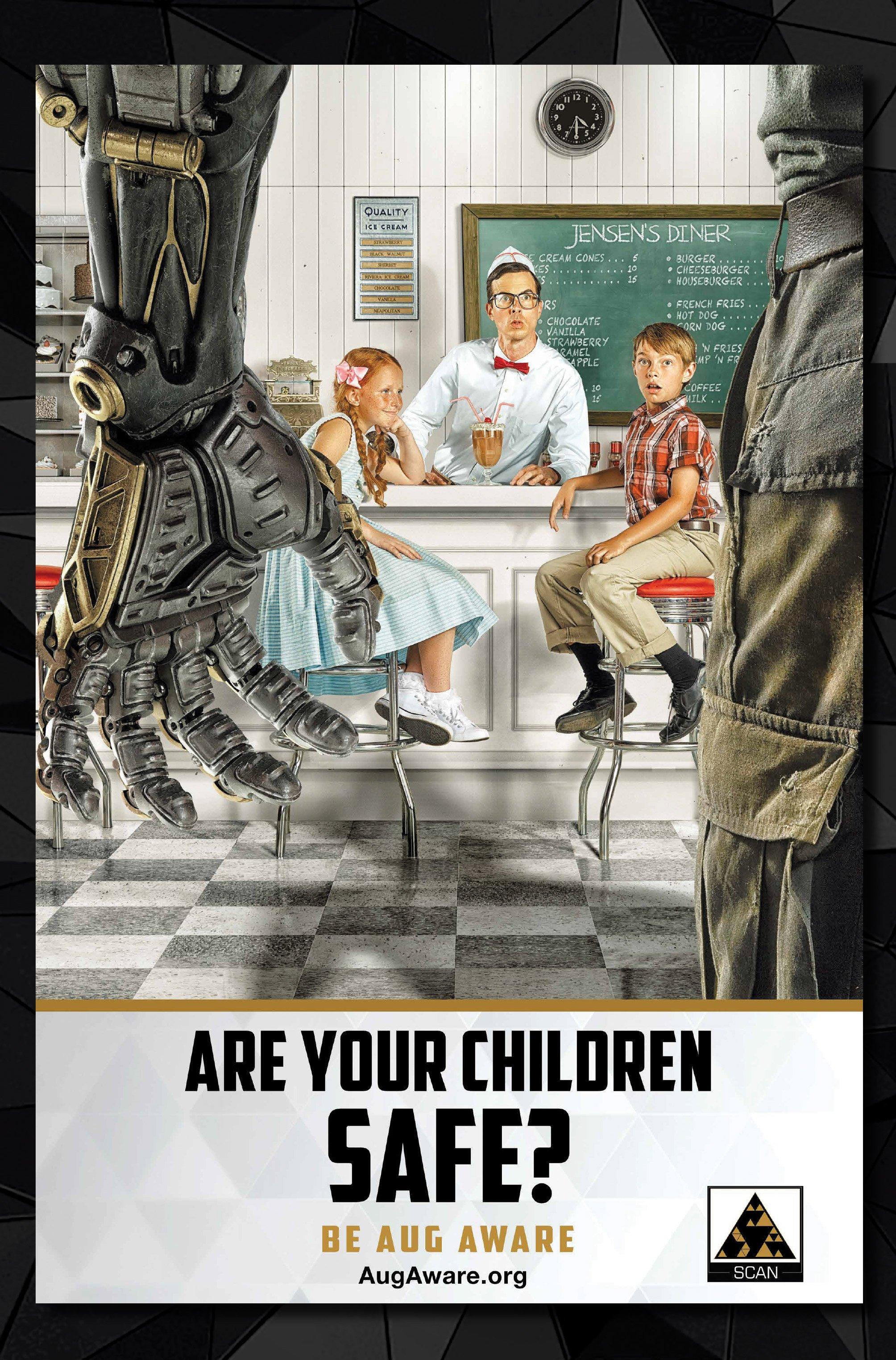 Агитплакаты Deus Ex, которые можно найти в комикс-серии Deus Ex Universe - Children's Crusade. - Изображение 2