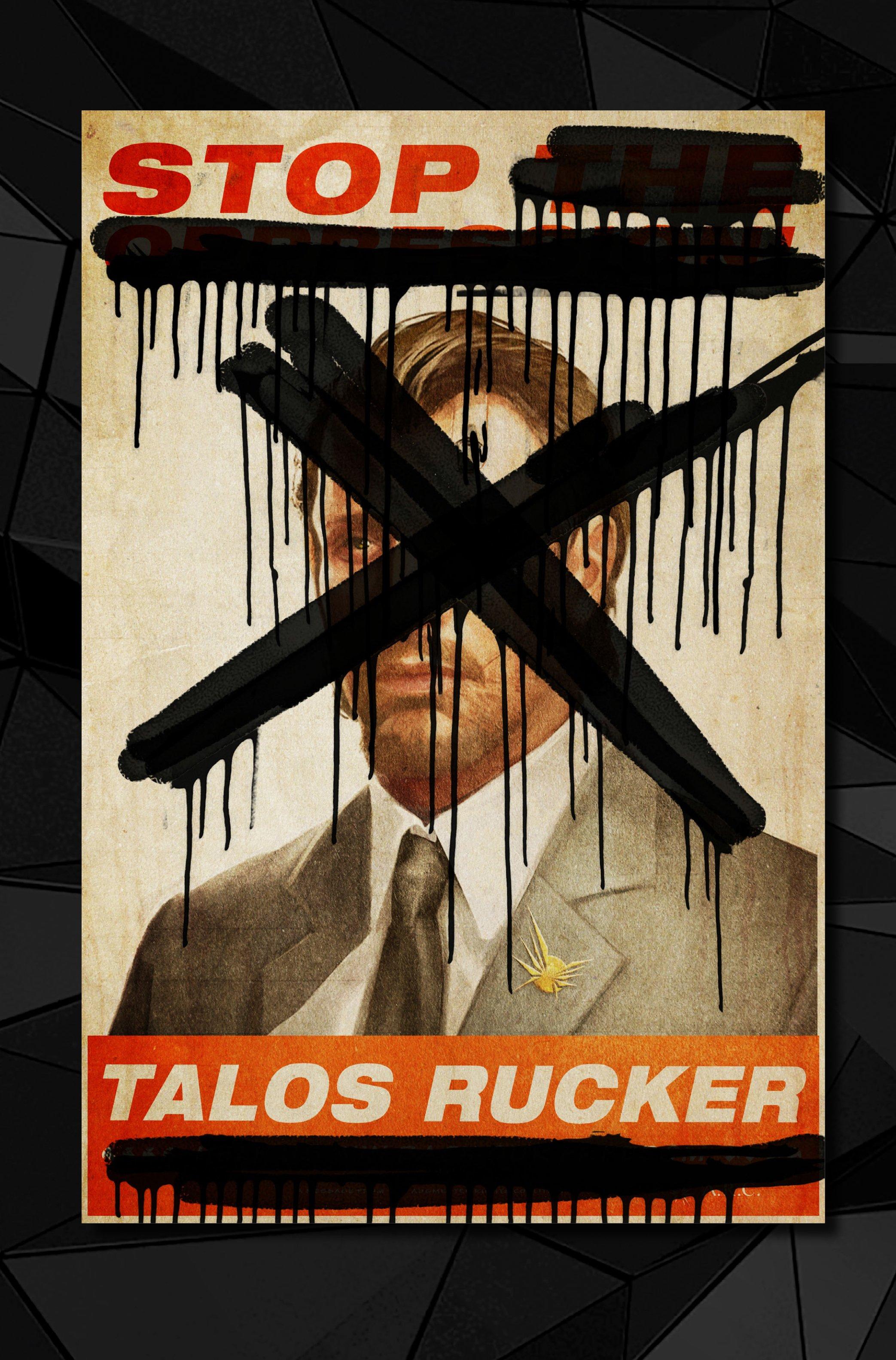 Агитплакаты Deus Ex, которые можно найти в комикс-серии Deus Ex Universe - Children's Crusade. - Изображение 16