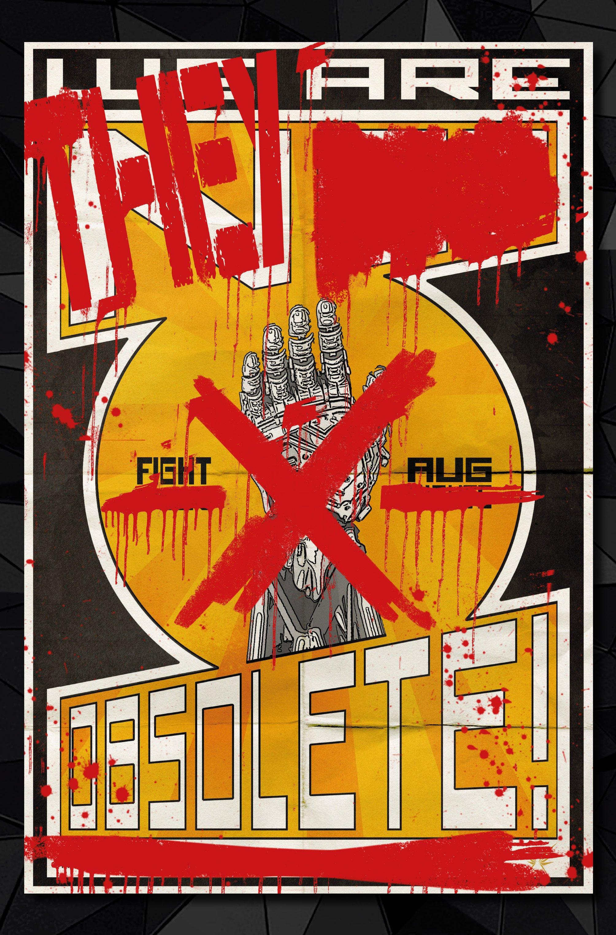 Агитплакаты Deus Ex, которые можно найти в комикс-серии Deus Ex Universe - Children's Crusade. - Изображение 10