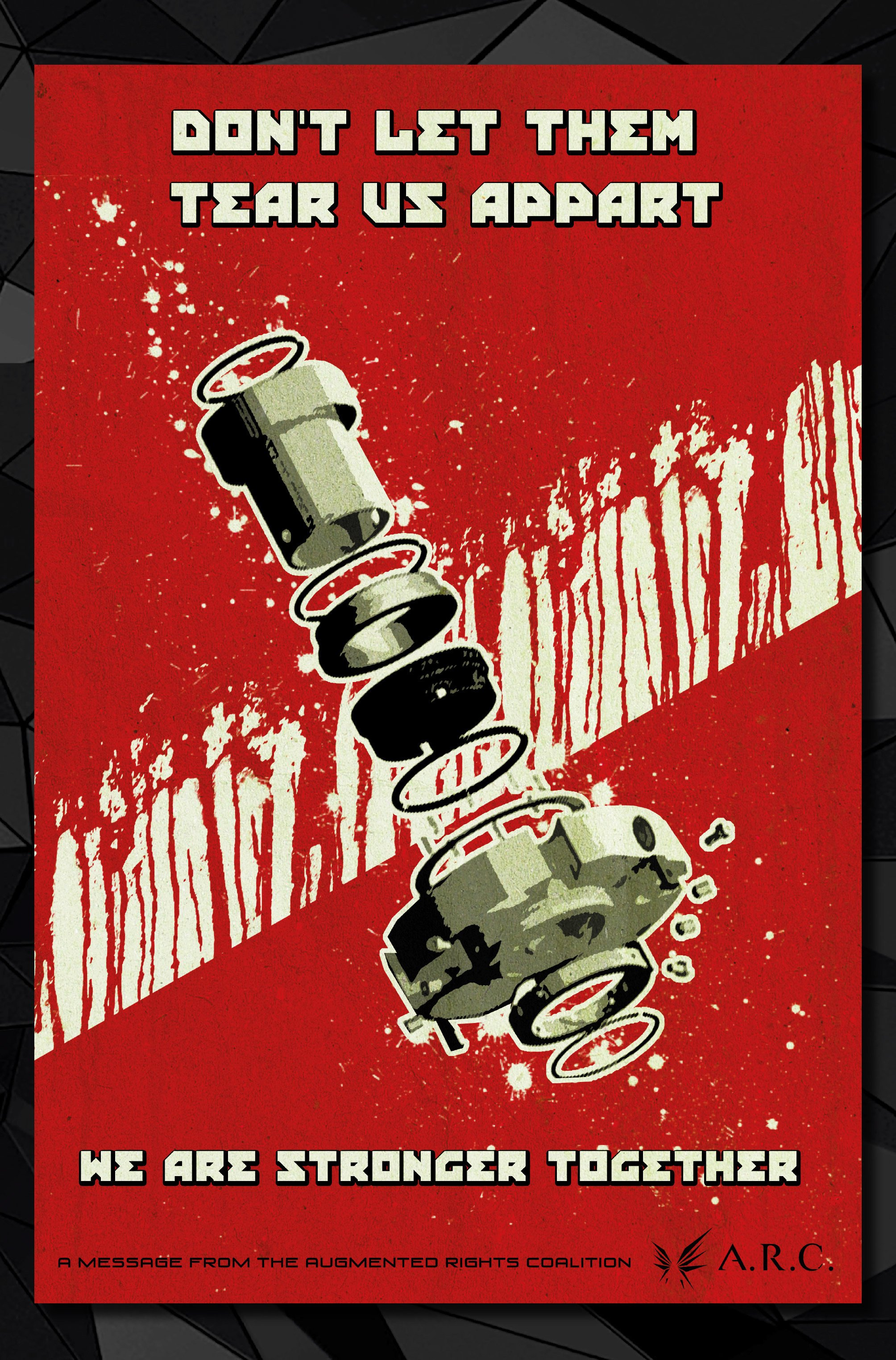 Агитплакаты Deus Ex, которые можно найти в комикс-серии Deus Ex Universe - Children's Crusade. - Изображение 3