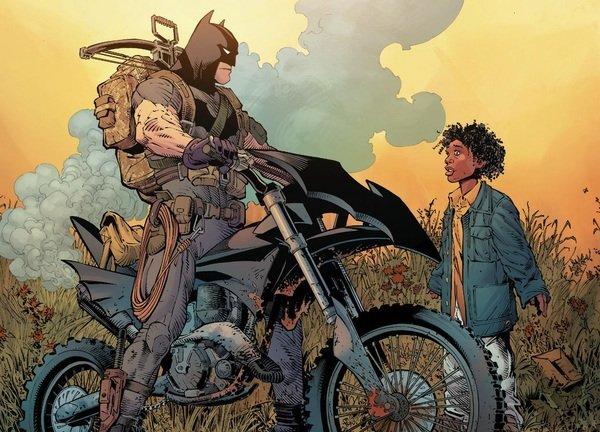 """Это комиксы №6: """"Бэтмен: Нулевой год"""". Как Снайдер бережно рвёт шаблоны. - Изображение 3"""