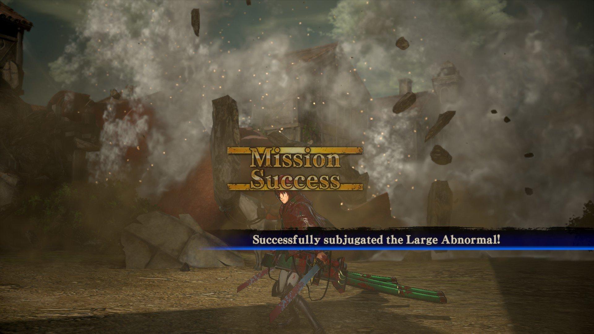 Пост-прохождение Attack of Titan: Wings of Freedom Часть 5 - Изображение 6