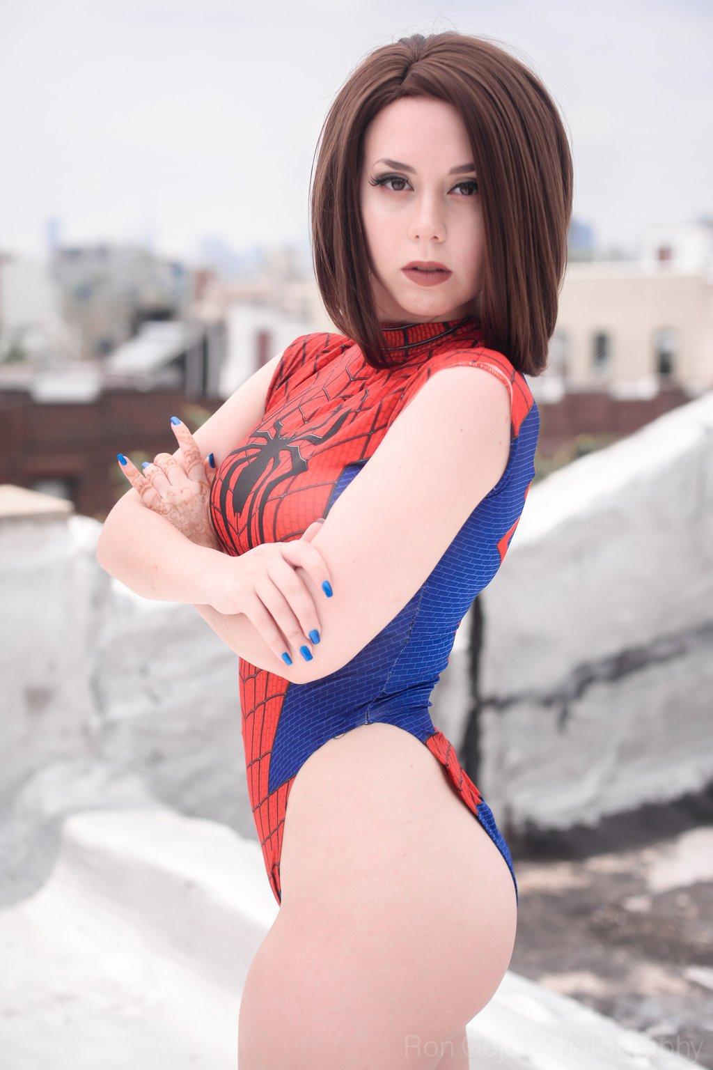 Косплей. Что было бы если бы Человека-паука поймал Веном в нашей фантазии - Изображение 2