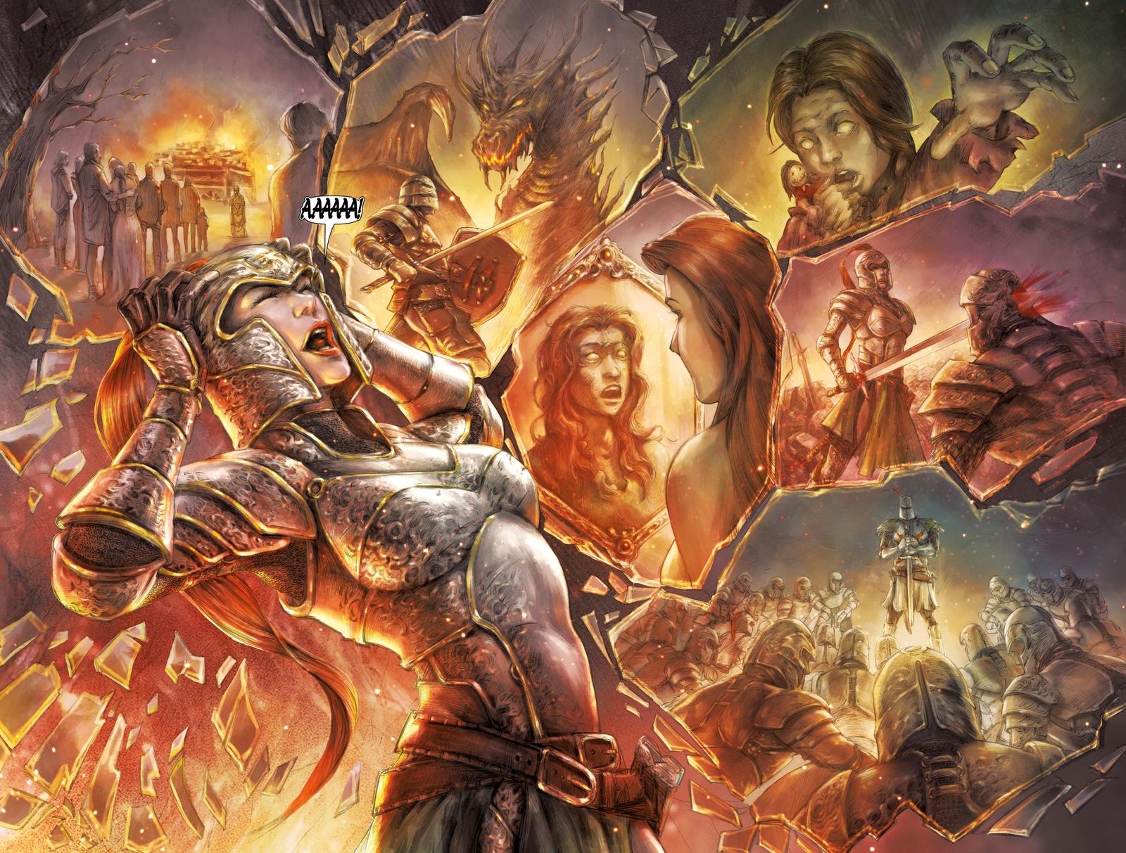 Немного комиксов по Dark Souls.(часть 1) - Изображение 9