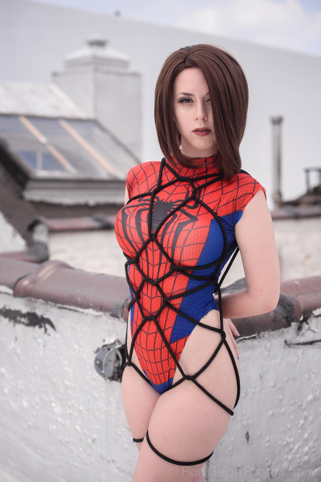 Косплей. Что было бы если бы Человека-паука поймал Веном в нашей фантазии - Изображение 9