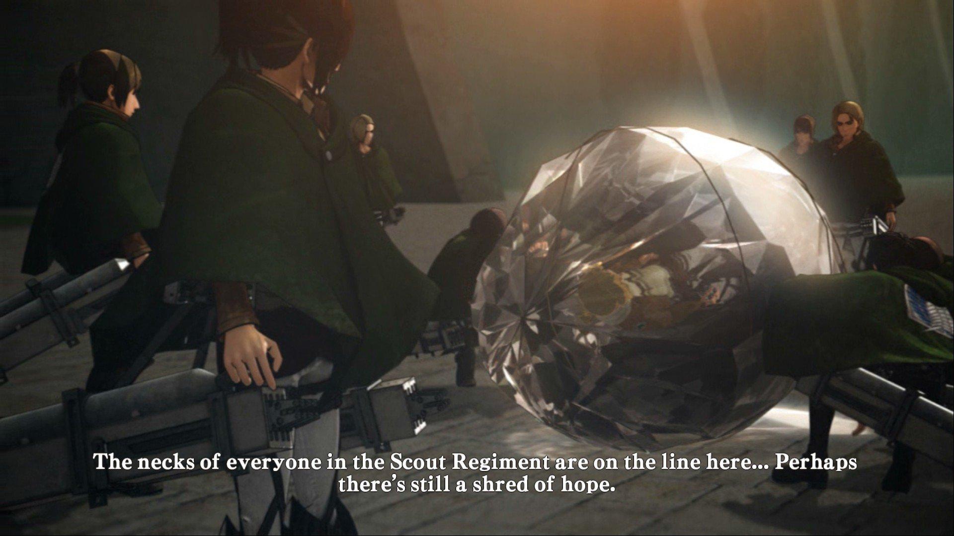 Пост-прохождение Attack of Titan: Wings of Freedom Часть 6 ФИНАЛ!!! - Изображение 36