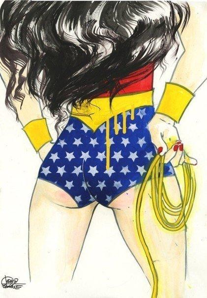Комиксы DC, вид сзади  - Изображение 3