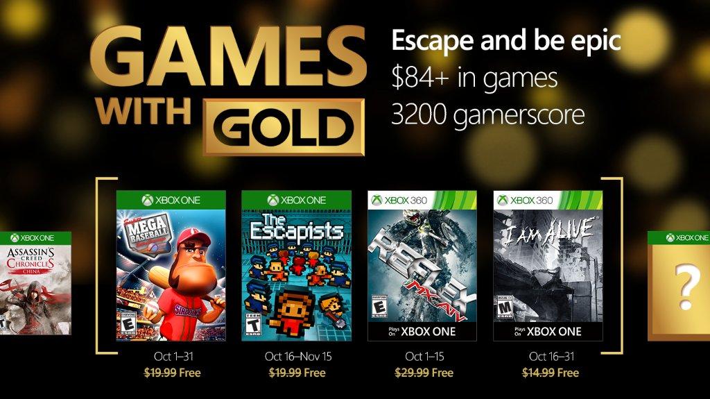 Games with gold октябрь 2016 - Изображение 1