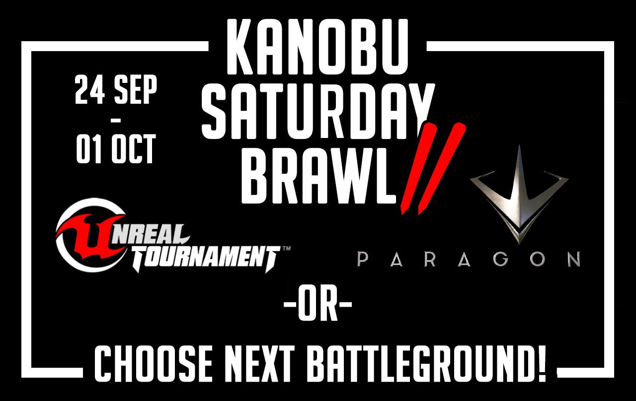 Kanobu saturday brawl-2 выбор игры - Изображение 1