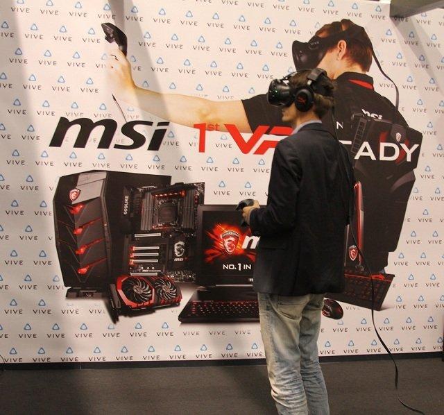 Уходим в VR. MSI на Игромире - Изображение 4