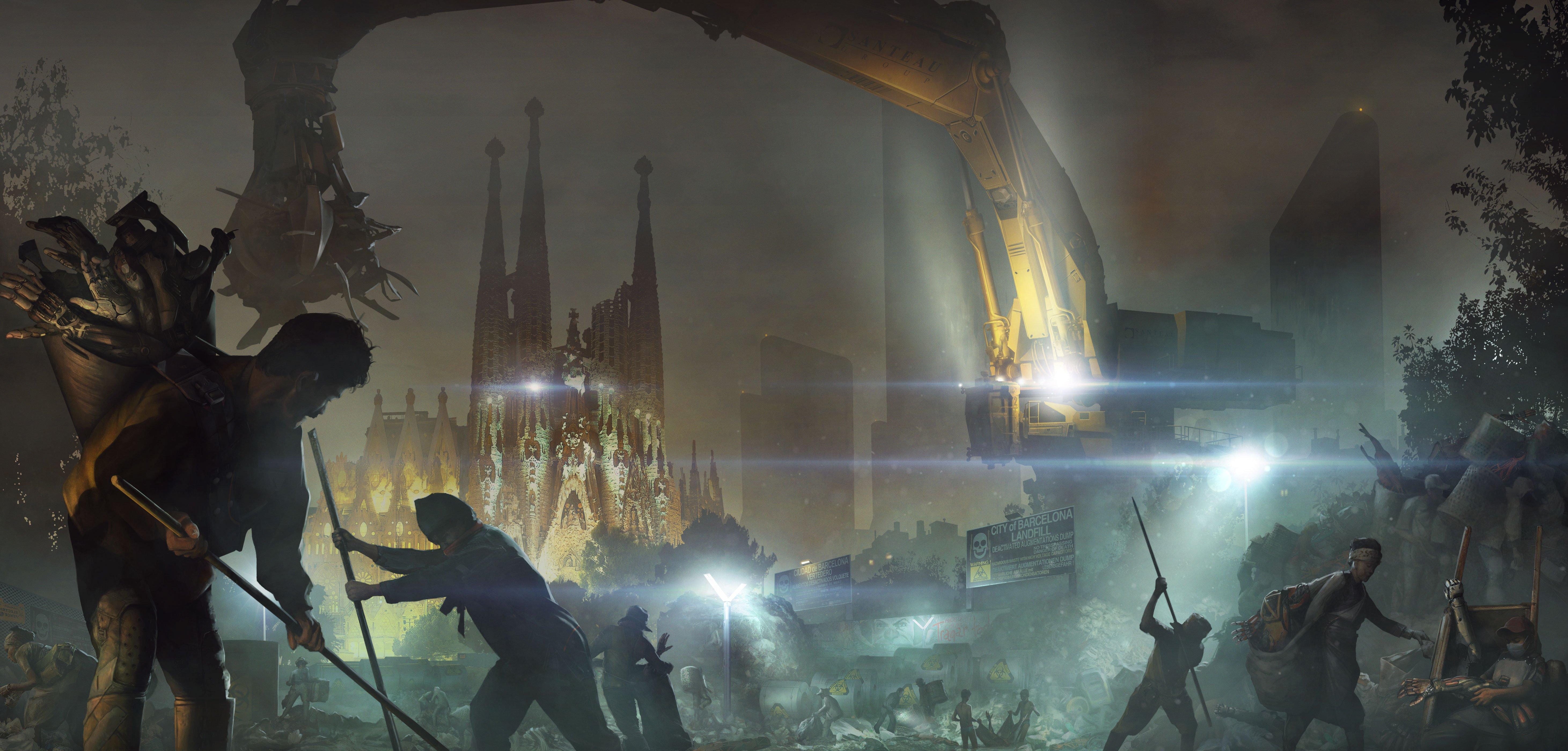 Города 2029 - Deus Ex: Mankind Divided  - Изображение 3