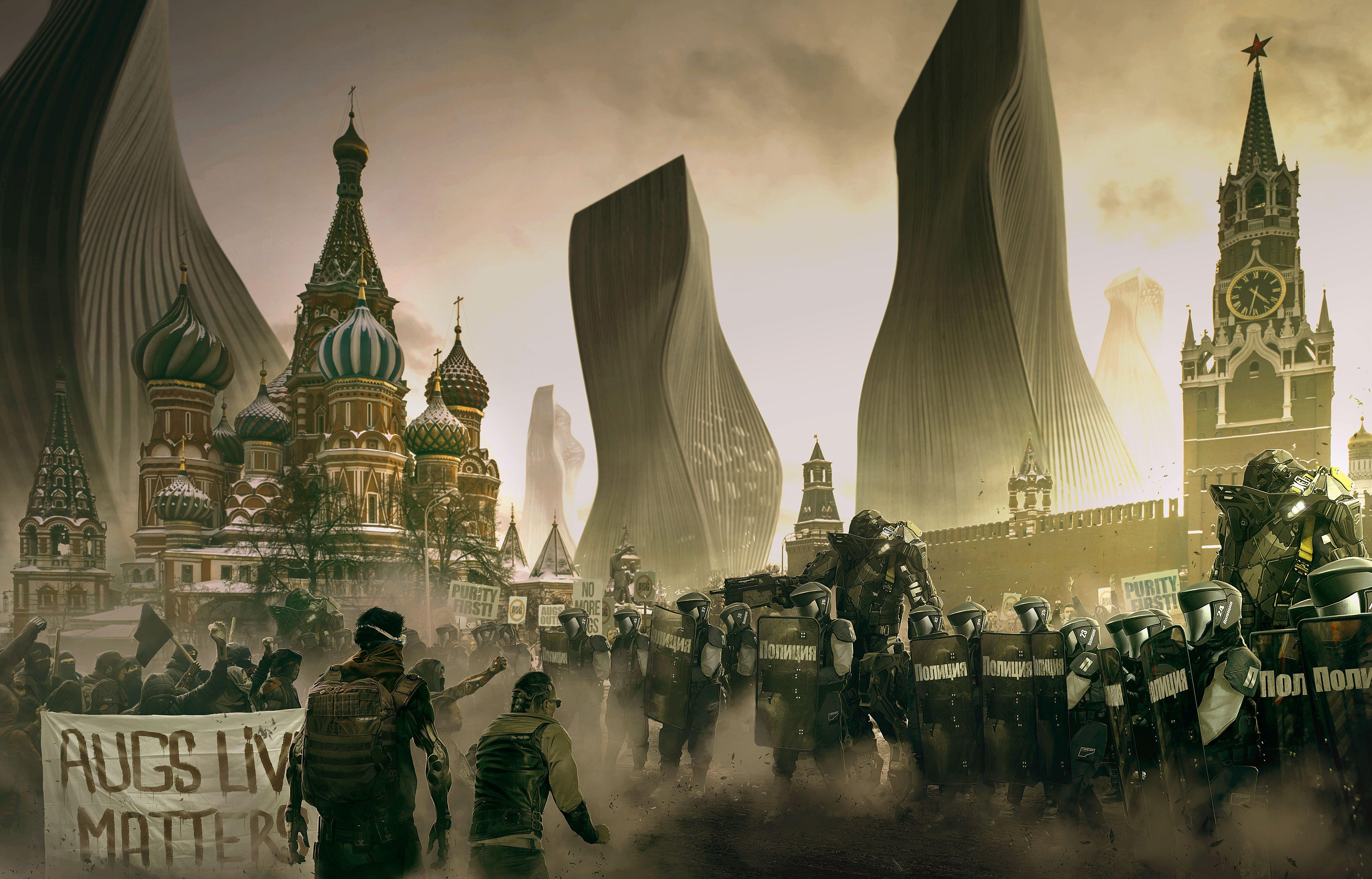 Города 2029 - Deus Ex: Mankind Divided  - Изображение 5