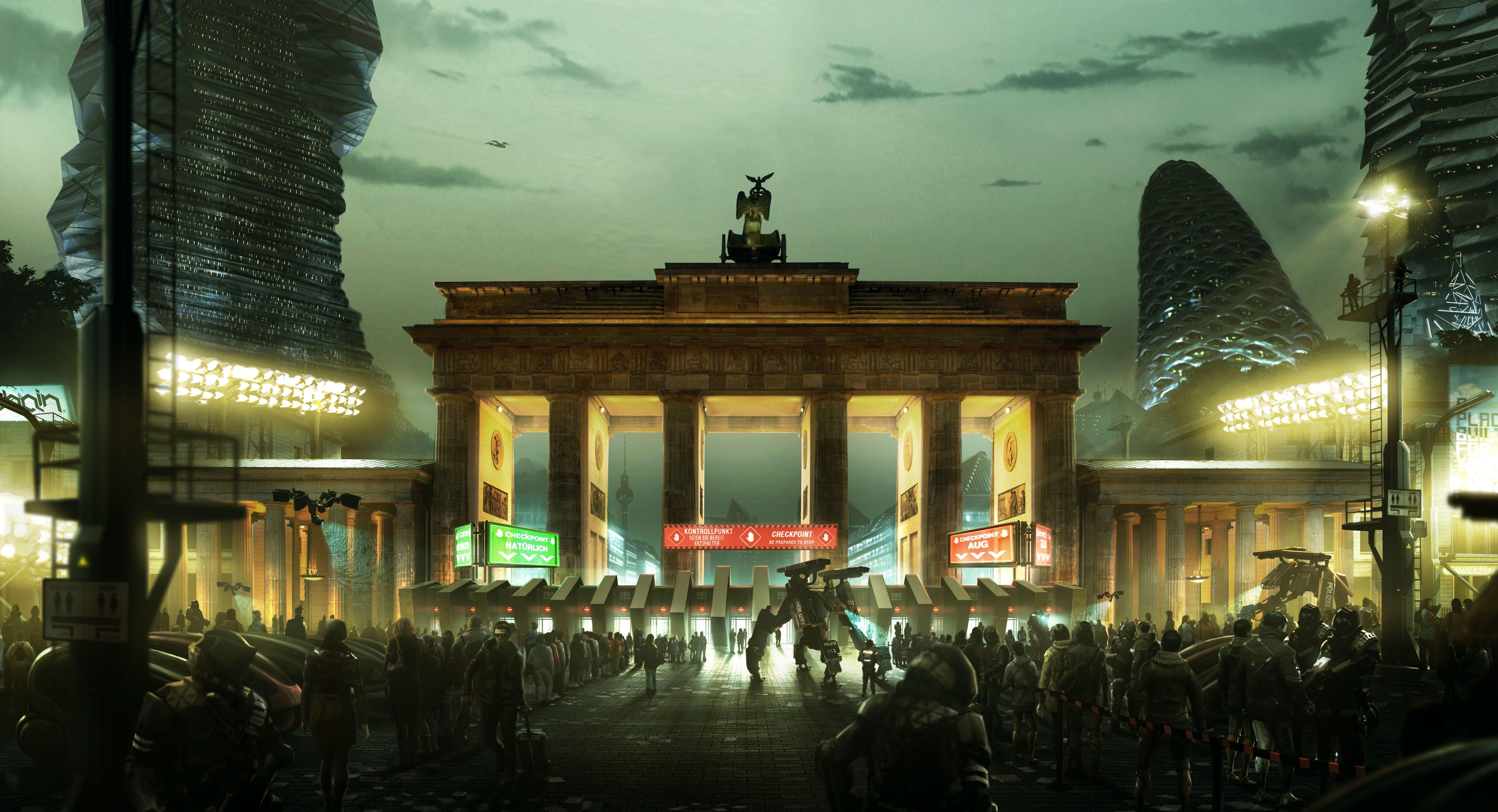 Города 2029 - Deus Ex: Mankind Divided  - Изображение 4