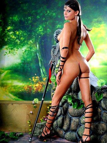 фото голых амазонок