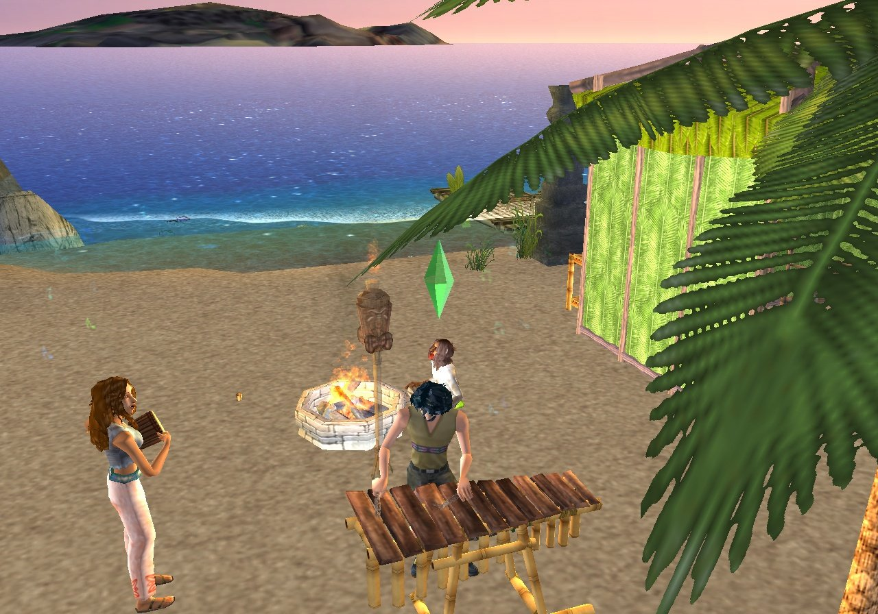 Все скриншоты The Sims: Castaway Stories.