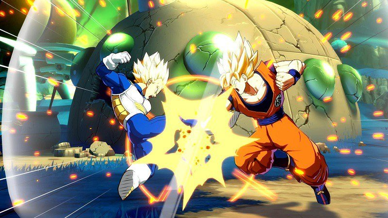 Dragon Ball Fighterz (2018) PC - Скриншот 1