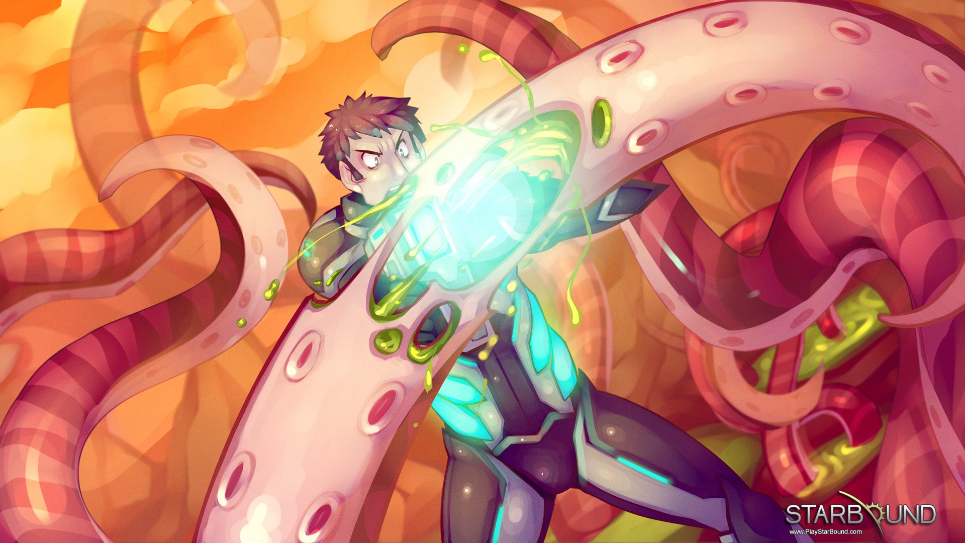 Starbound - скриншоты и фото игры Starbound, графика игры. Канобу