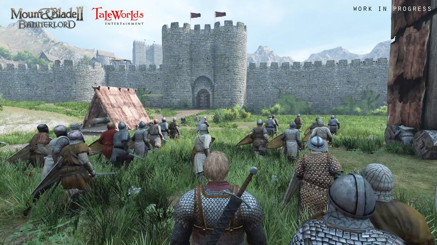 Mount & Blade 2: Bannerlord (2016) PC - Скриншот 3