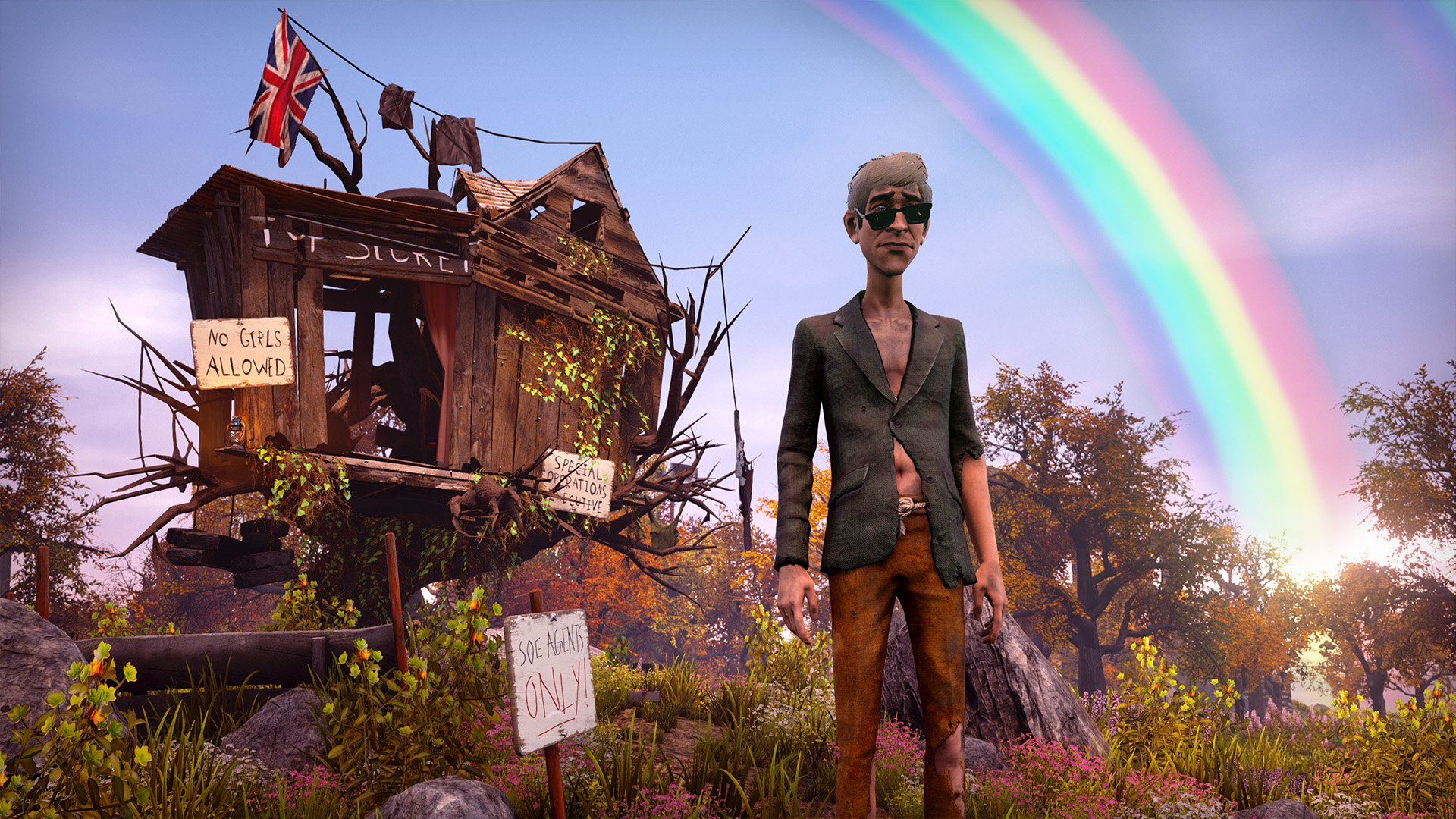 We Happy Few (2016) PC - Скриншот 3