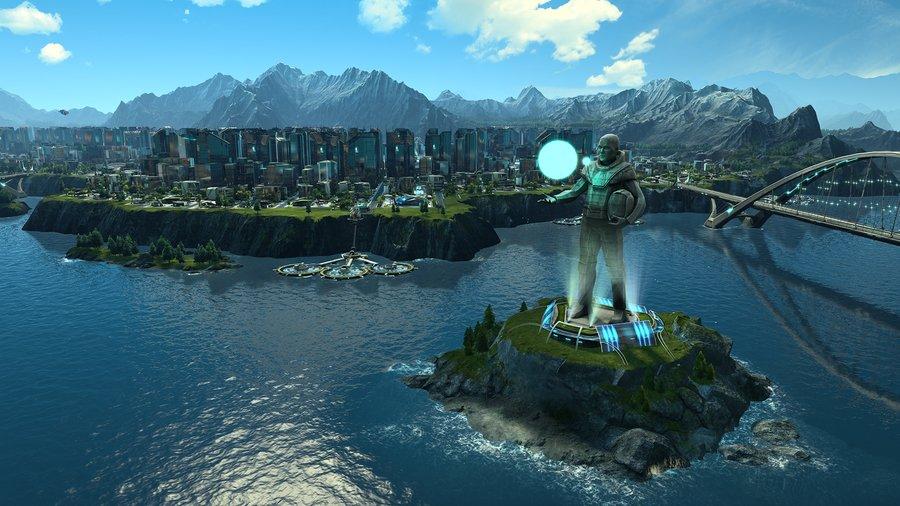 Anno 2205 (2015) PC - Скриншот 3