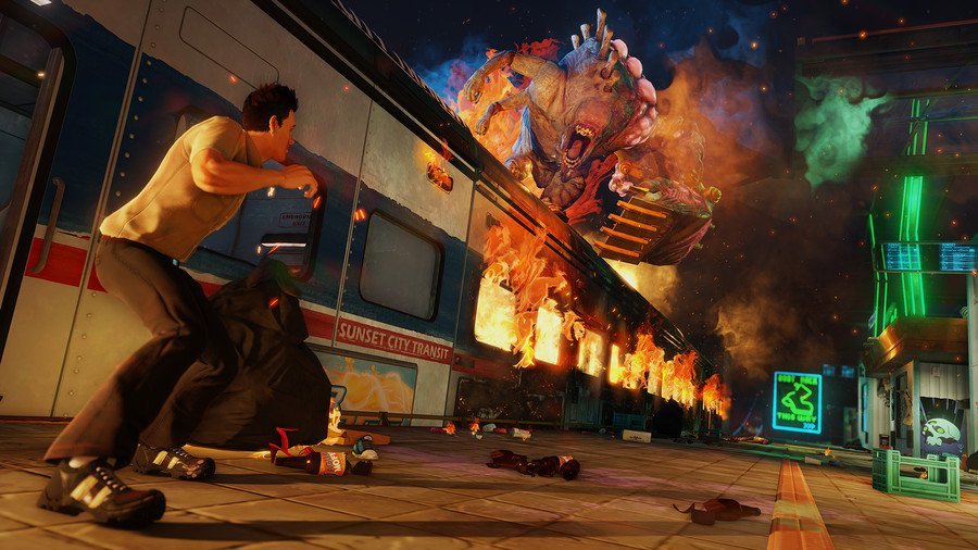 Sunset Overdrive (2016) PC - Скриншот 1