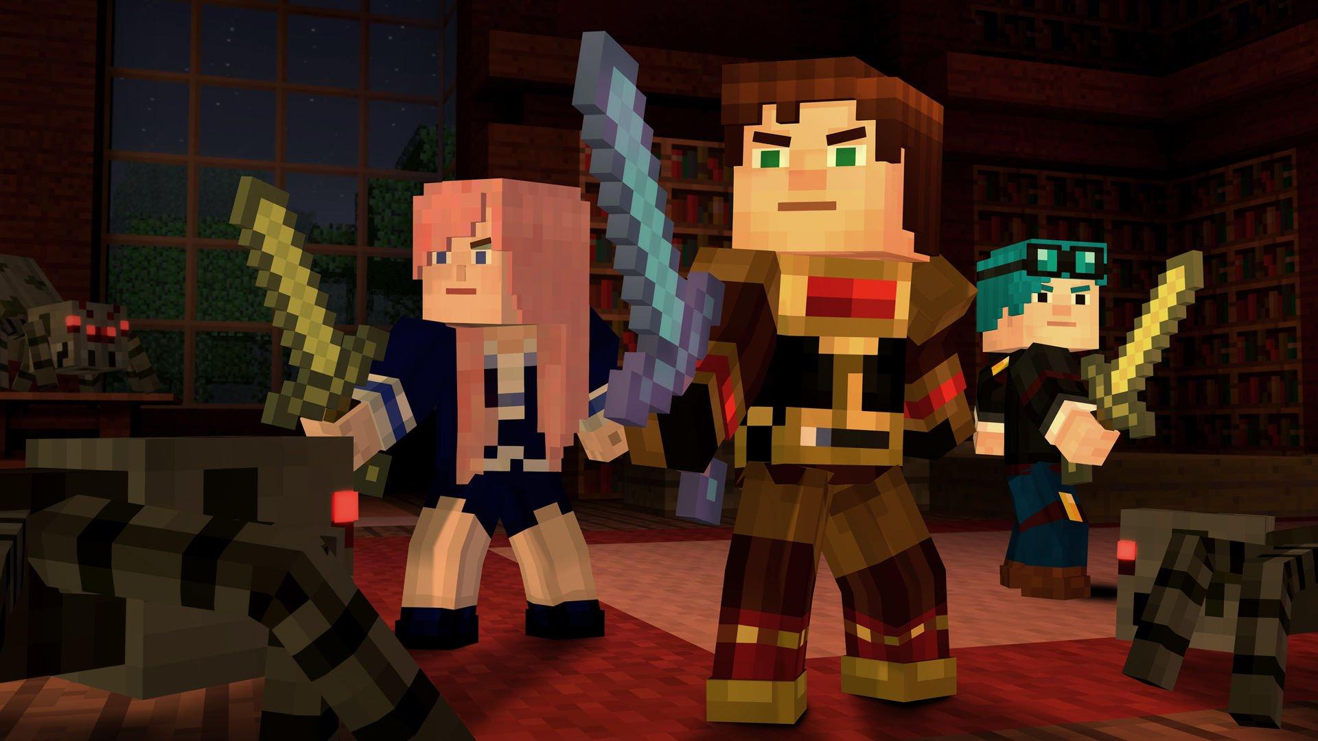 Выйдет игра minecraft story mode