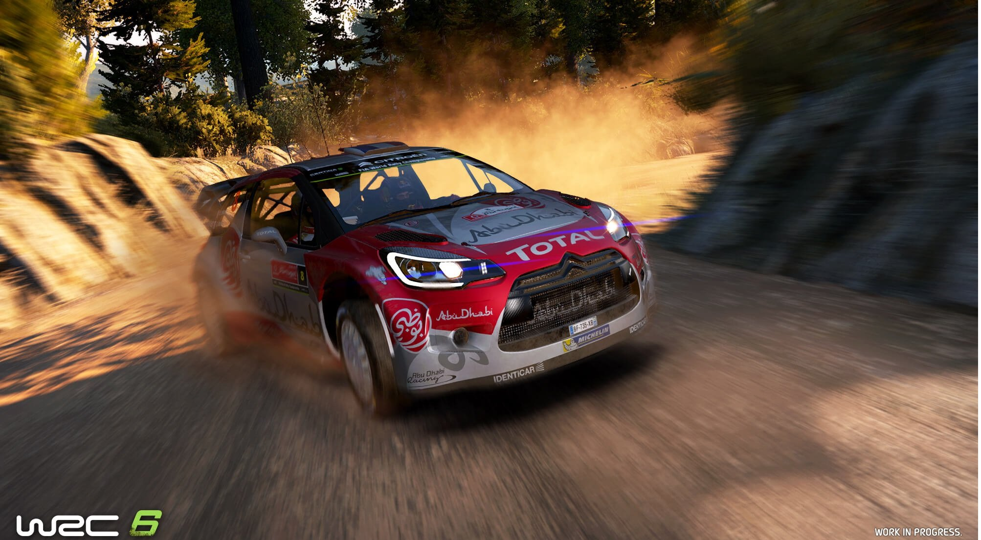 WRC 6 / World Racing Championship 6 (2017) PC - Скриншот 1